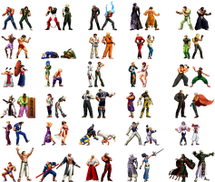 King of Fighters - Teams of 2 Concept by 0rcryst