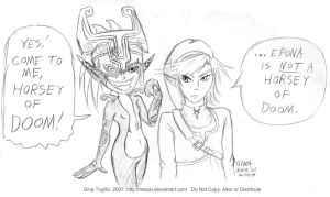 Zelda:Twilight Princess- DOOM by resuki