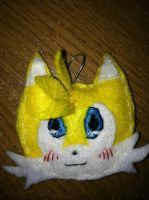 Tails :keychain: by Mitzy-Chan