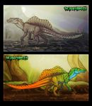 Spinosaurus Adoptable Sheet - CLOSED by TheJiggyMonster