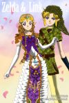 Zelda and Link by kbuscus