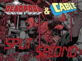 Deadpool Cable Split Second 2 by ReillyBrown