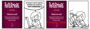 Pottermore Panic by MyHatsEatPeople