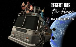 Desert bus, Bus HARDER-ER by muetank