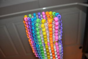 Clear Rainbow Cuff by amyswlee