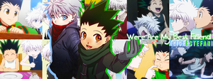 Killua and Gon by HolyRusher