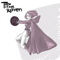Raven sketchy thing... by kevinsano
