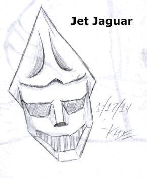 17 - Jet Jaguar by K-A-D-E