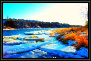 Winter River by shay420
