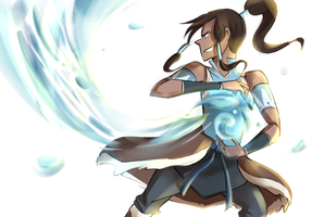 Korra by blargberries