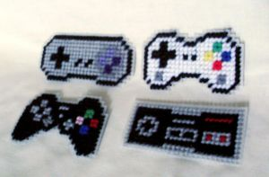 Plastic Canvas Gamer Collection by agorby00