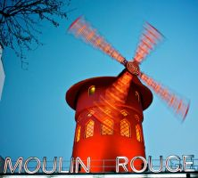 Moulin Rouge Paris by Abylone