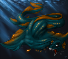 Denizen of the Deep by Tojo-The-Thief