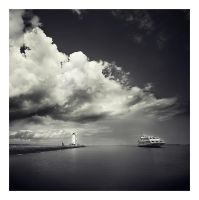 The sea transit by anoxado