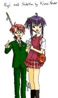 Negima cover 4 by Kinos-Nawor