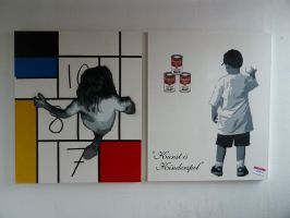 Kunst is Kinderspel Pt 1 and 2 by Bart-vd-hout