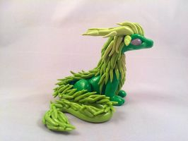 Forest Dragon by HereThereBeSculpture
