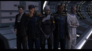 Mass Effect Allies Pose by Cor-Angars