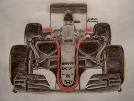 McLaren Honda MP4-30 Test livery by Scutum20