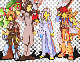 The Elite Four by Kell0x