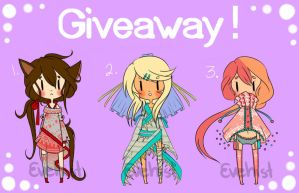 GIVEAWAY! [CLOSED] by Evehist