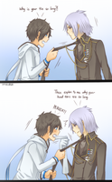 Devil Survivor 2: Yamato, Your Tie... by annako