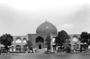 Iran Isfahan shah mosque 1970s by BlackWhitePictures