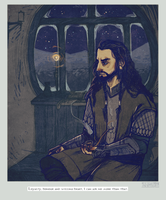 Thorin Oakenshield by Folkwe