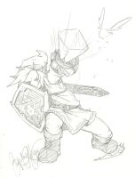 hero of time - sketch by quartermaester