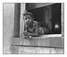 Girl In window.img341, with story by harrietsfriend