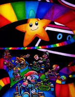 Mario Kart 64: Rainbow Road by Joker08