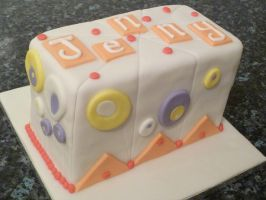 'Graphic Design' Cake by Rebeckington