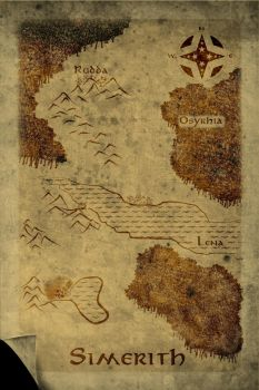 Old Map by SlvrYume