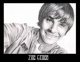 Zac Efron 2 by Dutch-Carmen
