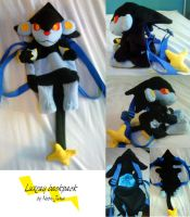 Luxray backpack by Neon-Juma