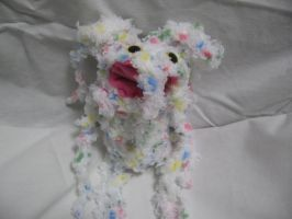 WeeEvil white funfetti breed by lucidfairy