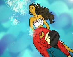 [Request] Moana and Tommy by HannaEsser