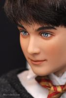 Daniel Radcliffe as young Harry Potter by mary-vassilieva