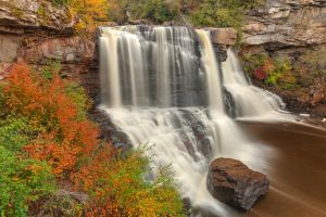 Blackwater Autumn Falls by somadjinn