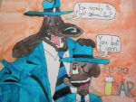 Sam and Dave: Father cop and Son cop by BARproductions