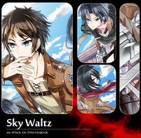 Sky Waltz - Fanbook preview by Sukihi