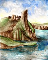 Caldey Island by HerbalJabbage