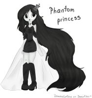 Phantom princess by Drawing-Heart