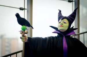 Maleficent from Sleeping Beauty by Miwako-cosplay