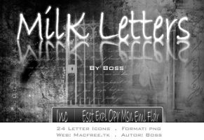 Milk Letters by Boss by Macfree