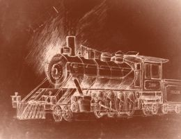 Steam Locomotive by Kozzie001