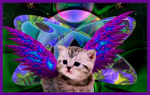 Winged Cat of Rigel 7 by Lasercrew420