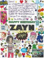 zayn's birthday note by SiXProductions