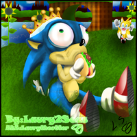 Our Dear King Sanic by laurytheotter