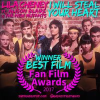 Lila Cheney ft. Dazzler and The New Mutants by greasypigstudios